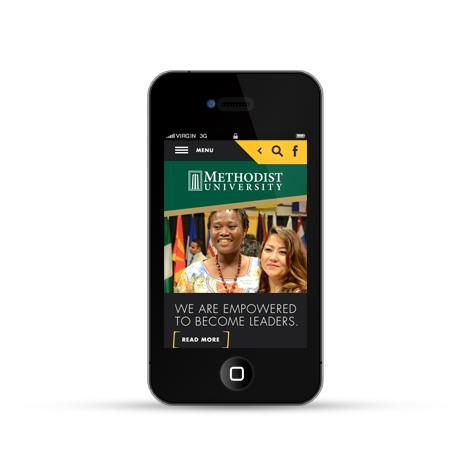 Methodist University mobile